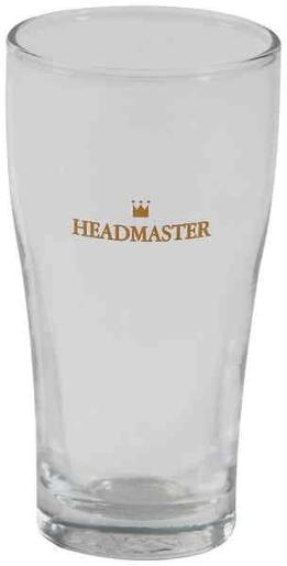 CONICAL HEADMASTER BEER GLASS 285ML