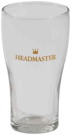 CONICAL HEADMASTER BEER GLASS 425ML