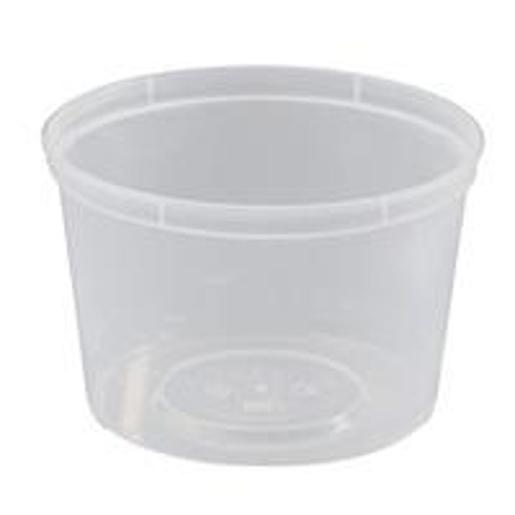 ROUND CONTAINER MICROREADY 540ML 50S