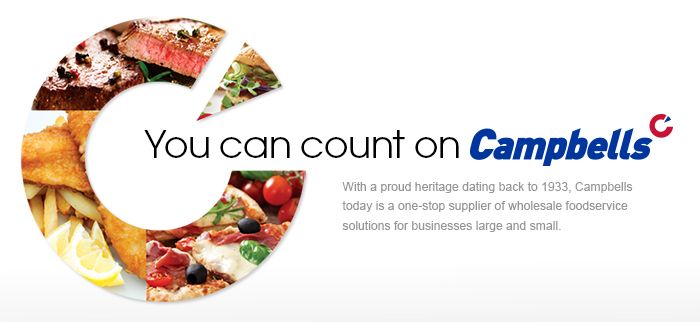 You can count on campbells