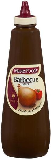BBQ SAUCE SQUEEZY 920ML