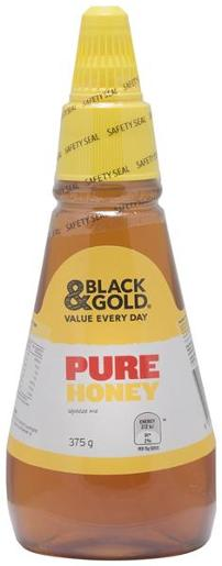 CLEAR HONEY TWIST AND SQUEEZE 375GM