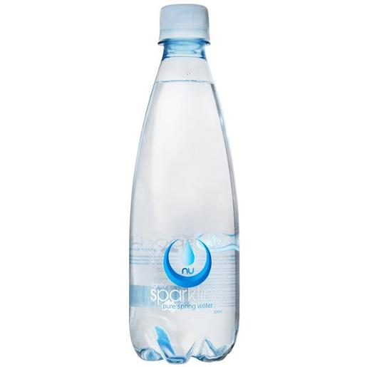 SPARKLING PURE SPRING WATER 500ML