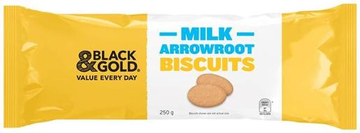 BISCUITS MILK ARROWROOT 250G