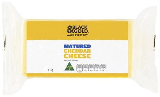 CHEESE MATURED TASTY 1KG