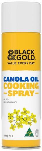 CANOLA OIL COOKING SPRAY 400GM