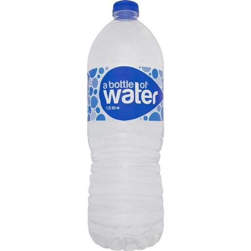 A BOTTLE OF WATER 1.5L