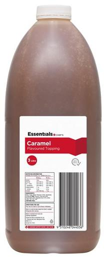 CARAMEL TOPPPING 3L