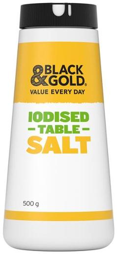IODIZED DRUM TABLE SALT 500GM