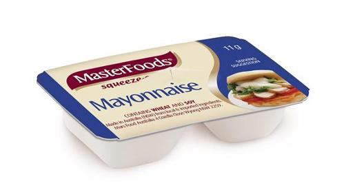 MAYONNAISE PORTIONS 11GM