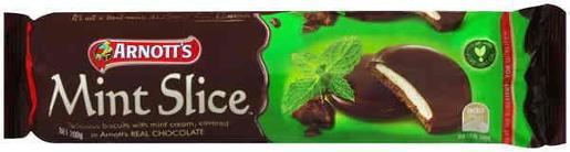 BISCUITS CHOCOLATE MINT SLICE 200GM