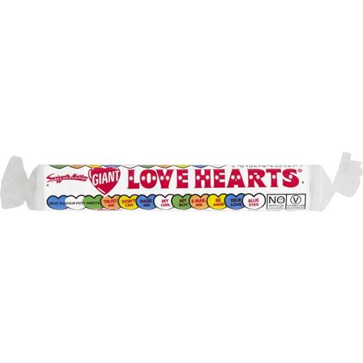 GIANT LOVE HEARTS 45GM