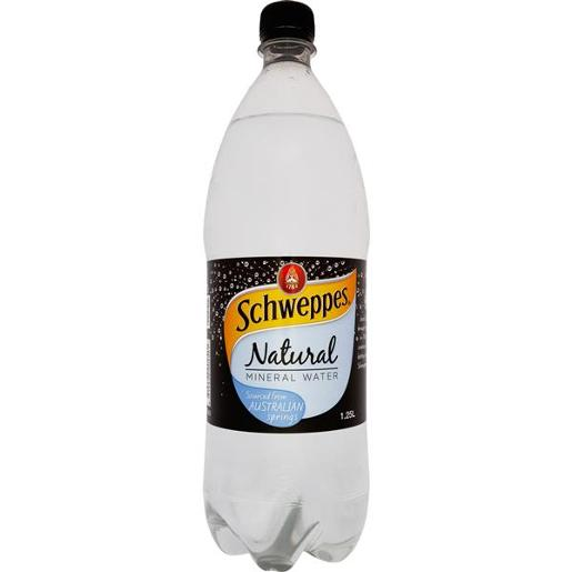 NATURAL MINERAL WATER 1.25L