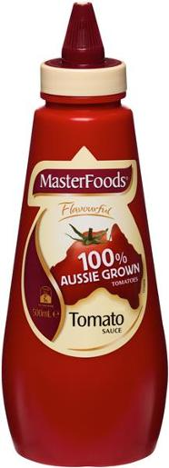 AUSTRALIAN GROWN TOMATO SAUCE 500ML