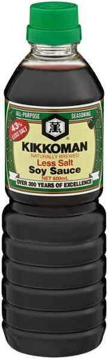 LOW SALT SOY SAUCE 600ML