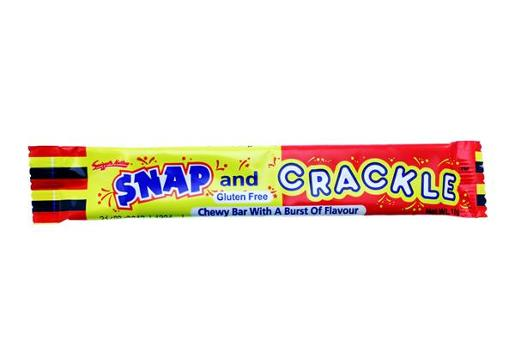 SNAP AND CRACKLE CHEW BAR 19GM