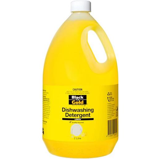 DISHWASHING DETERGENT LEMON 2L