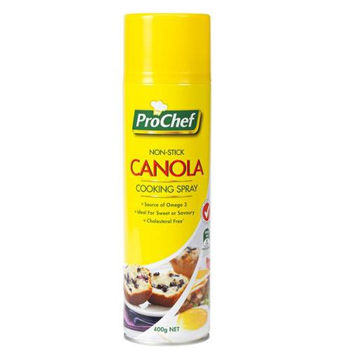 CANOLA OIL COOKING SPRAY 400G