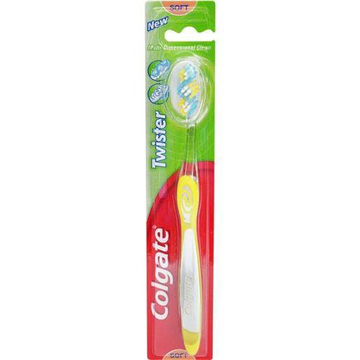 TOOTHBRUSH TWISTER ADULT SOFT 1PK