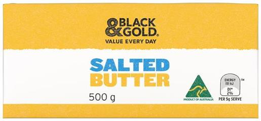 SALTED BUTTER 500GM
