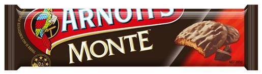 BISCUITS CHOCOLATE MONTE 200GM