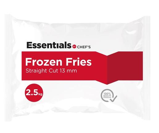 STRAIGHT CUT FRIES 13MM 2.5KG