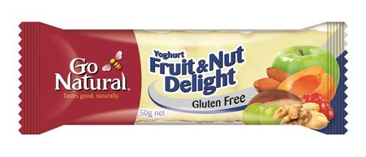 BAR YOGHURT FRUIT AND NUT DELIGHT 50GM