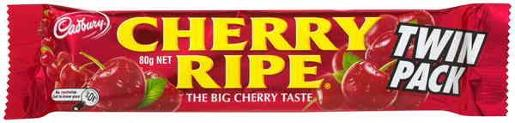 CHERRY RIPE KING SIZE 80GM