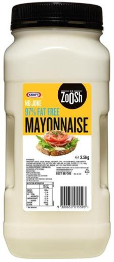FAT FREE MAYONNAISE 2.5KG