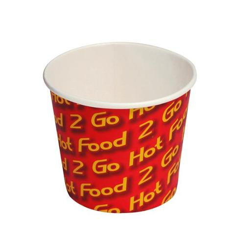 PAPER CHIP CUP HOT FOOD 2 GO 8OZ 50S