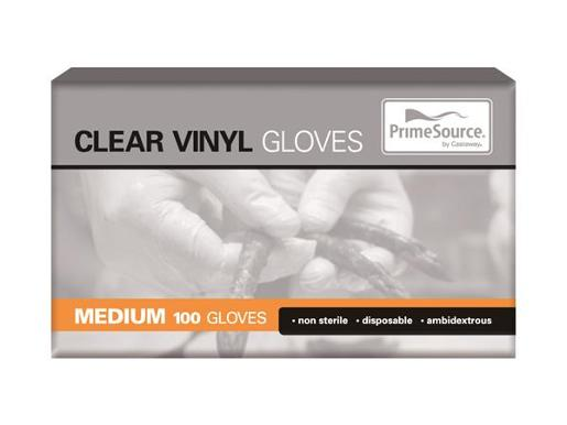 GLOVES POWDERED VINYL MEDIUM 100S