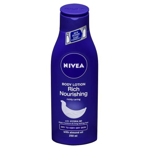 RICH NOURISHING BODY MOISTURISER 250ML