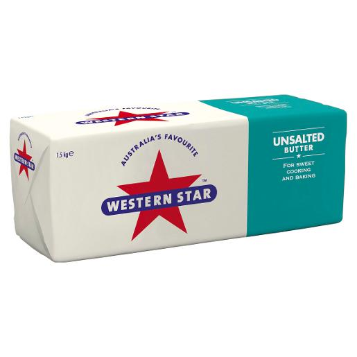 UNSALTED BUTTER 1.5KG