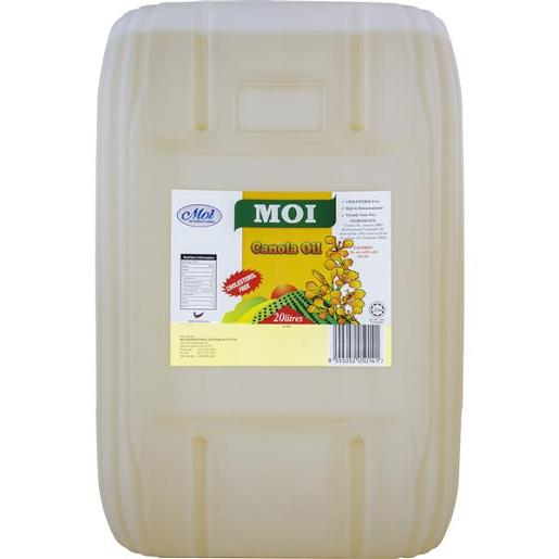 CANOLA OIL JERRY CAN 20L
