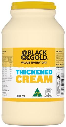 THICKENED CREAM 600ML