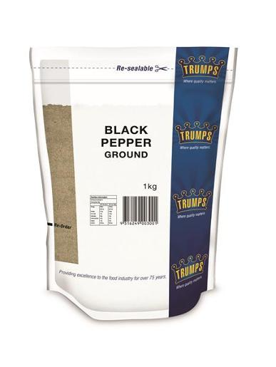 GROUND BLACK PEPPER 1KG