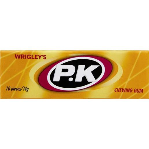 PK CHEWING GUM REGULAR SINGLES 56GM
