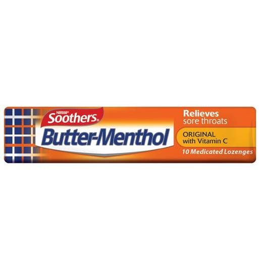 BUTTER MENTHOL MEDICATED LOZENGES STICK 40GM