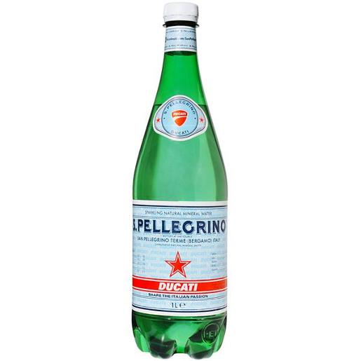 SPARKLING MINERAL WATER PET 1L