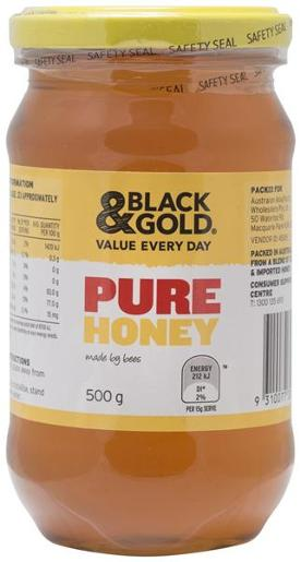 HONEY JAR 500GM
