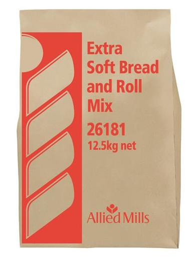 EXTRA SOFT BREAD & ROLL MIX 12.5KG