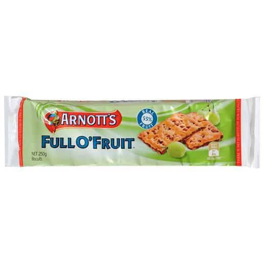 BISCUITS FULL-O-FRUIT 250G