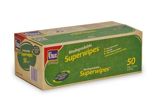 SUPERWIPES BIODEGRADABLE 50S
