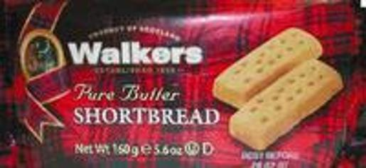 WALKERS SHORTBREAD FINGERS 160GM