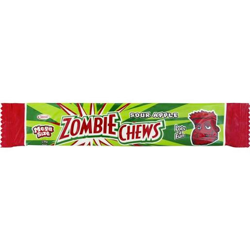 APPLE ZOMBIE CHEWS 28GM