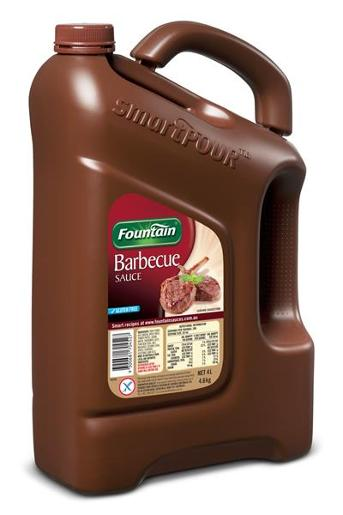SAUCE BARBECUE 4L