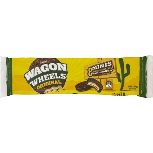 BISCUITS WAGON WHEEL ORIGINAL MINIS 190GM