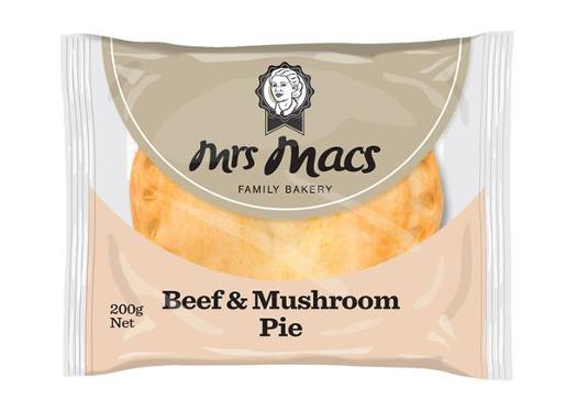 BEEF AND MUSHROOM PIE 200GM