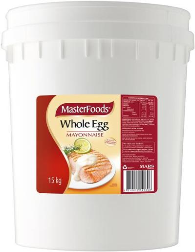 WHOLE EGG MAYONNAISE 15KG