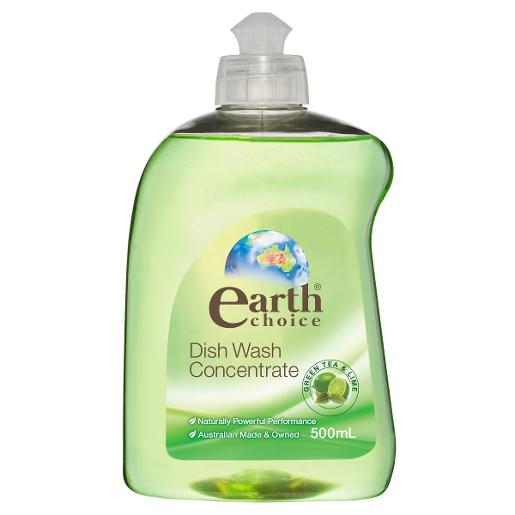 GREEN TEA AND LIME DISHWASH LIQUID CONCENTRATE 500ML